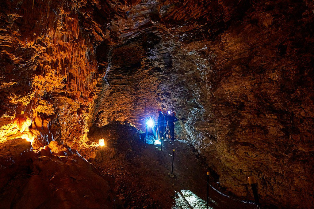 Limestone Sea Formed Cave